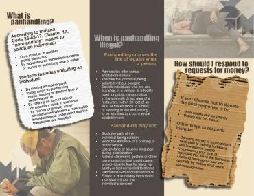 Aggressive Panhandling Brochure Inside