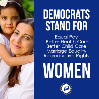Democrats Stand for Women
