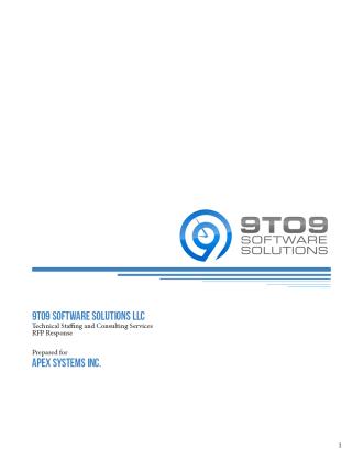 APEX RFP Response 2.20.20142